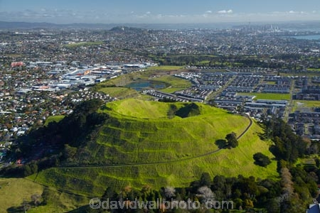 Mount Wellington Domain, Auckland, North Island, New Zealand - aerial